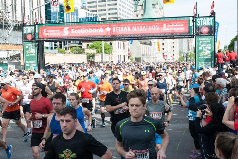 running event starting line