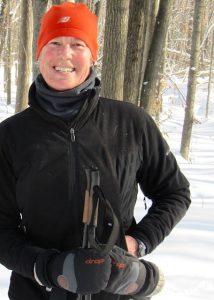 Sandy Patenaude outdoors
