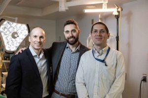 Drs. Daniel LaRussa, Justin Sutherland, and Chadwick Boulay