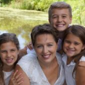 Vesna Zic Cote and her family