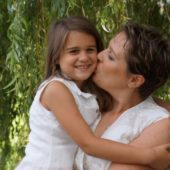 Vesna Zic Cote and her daughter