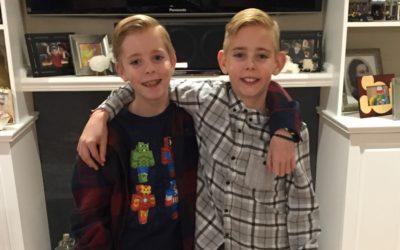 Liam and Rhys Shipton