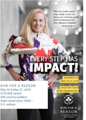 Summary of the 2018-2019 Run for a Reason at The Ottawa Hospital Foundation