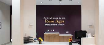 The Rose Ages Breast Health Centre at The Ottawa Hospital