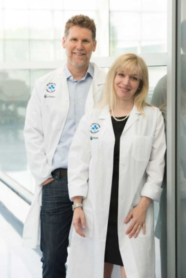 Drs.JodiWarman Chardon and Robin Parkswere instrumental in establishing theNeuroMuscularCentre, which opened in 2018.