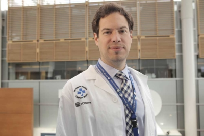 Dr. Guillaume at The Ottawa Hospital