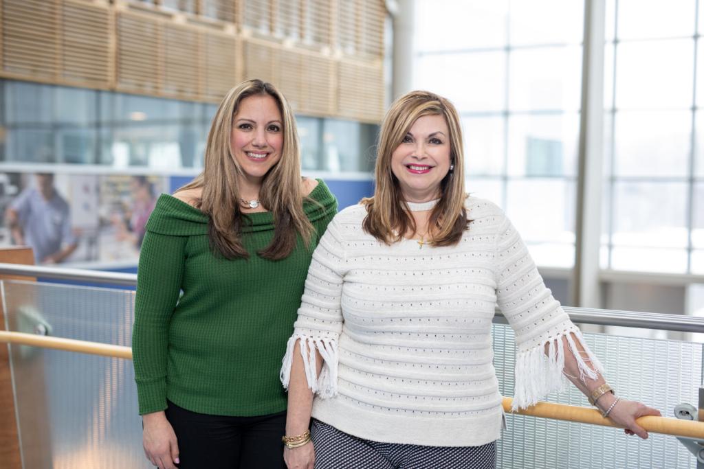 Gina Mertikas and Katerina Mertikas