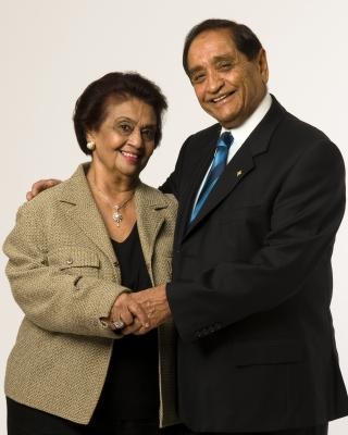 Gulshan and Pyarli Nanji