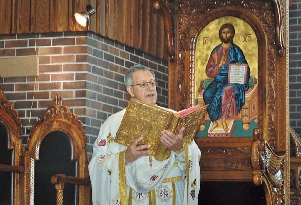 Fr. Michalopulos at Greek Orthodox Church