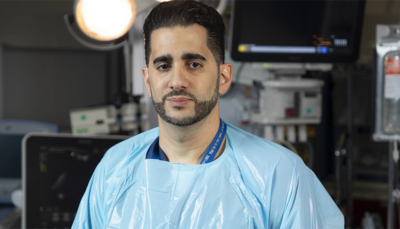 Dr. Matar, trauma surgeon