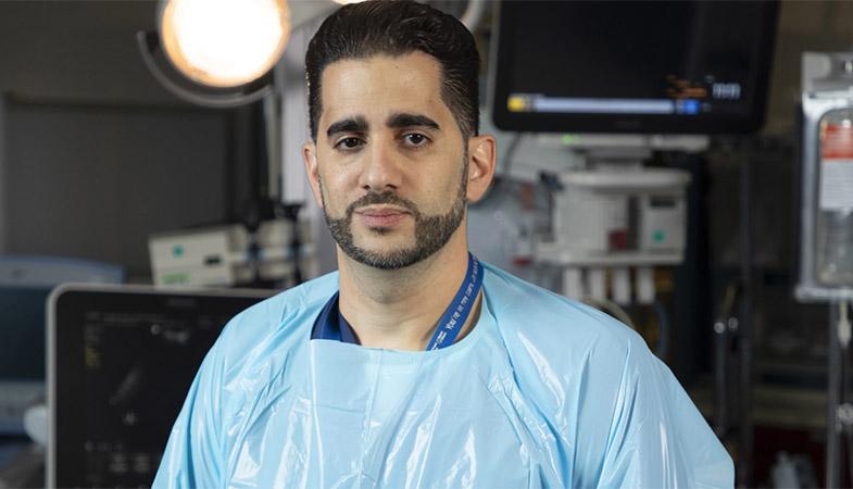Dr. Matar, trauma surgeon