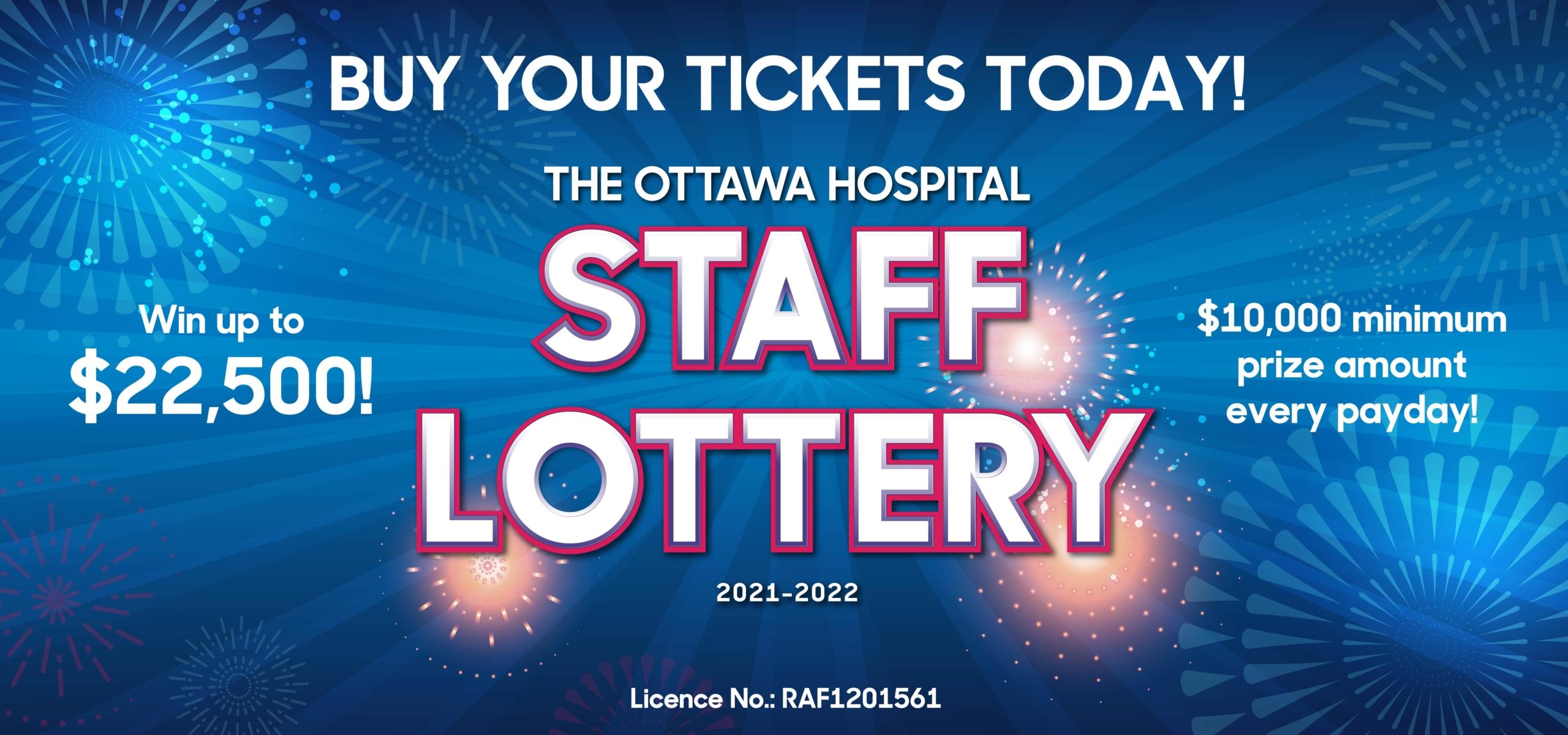 The Ottawa Hospital 2021-2022 Staff Lottery