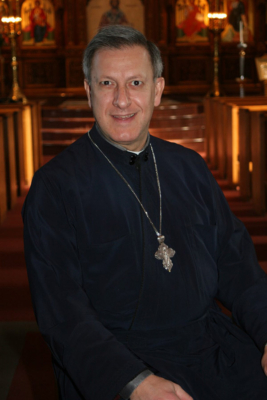 Fr. Alex Michalopoulos was treated for COVID-19 at The Ottawa Hospital last year.