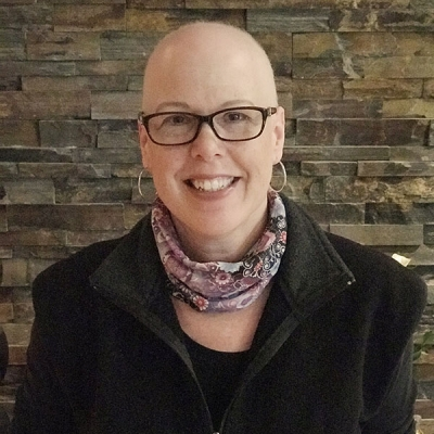 Connie Chartrand, breast cancer patient, participated in three REaCT clinical trials
