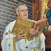 Fr. Alex in Church